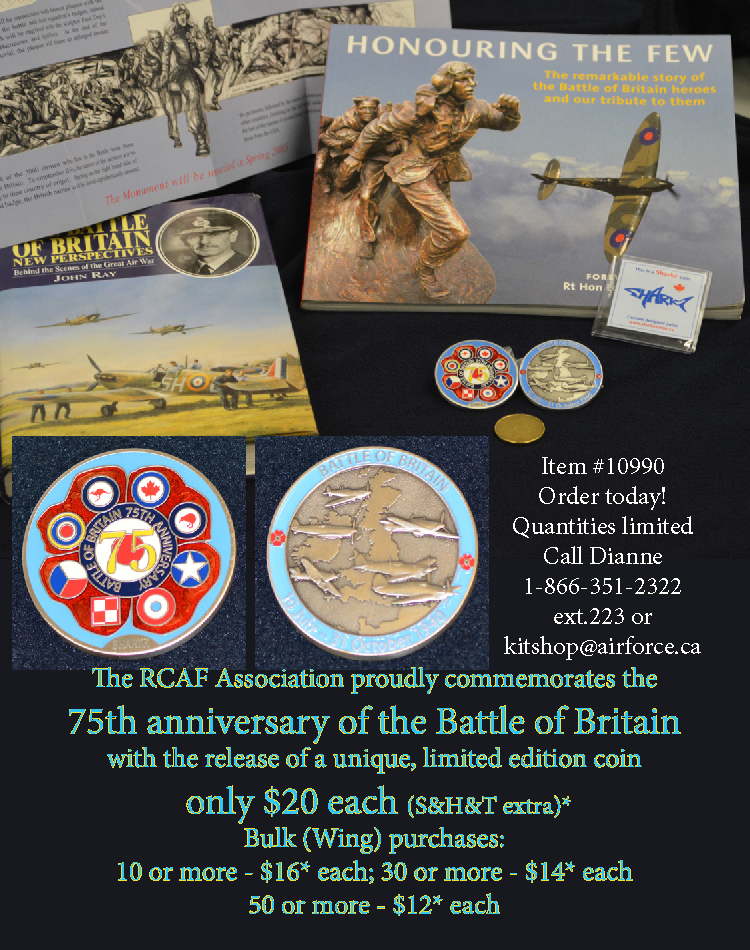 75th Anniversary Coin Commemorating the Battle of Britain