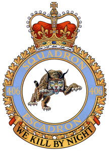 406sqn_300 Ottawa, Ontario 22 March 2007 Insignia of 406 Maritime Operational Training Squadron. CF Image